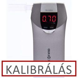 Alcofind DA-5000 alkoholszonda kalibrálás