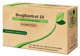 DrogKontrol 10 drogteszt