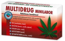 Multidrog Minilabor Kábítószer Kombiteszt