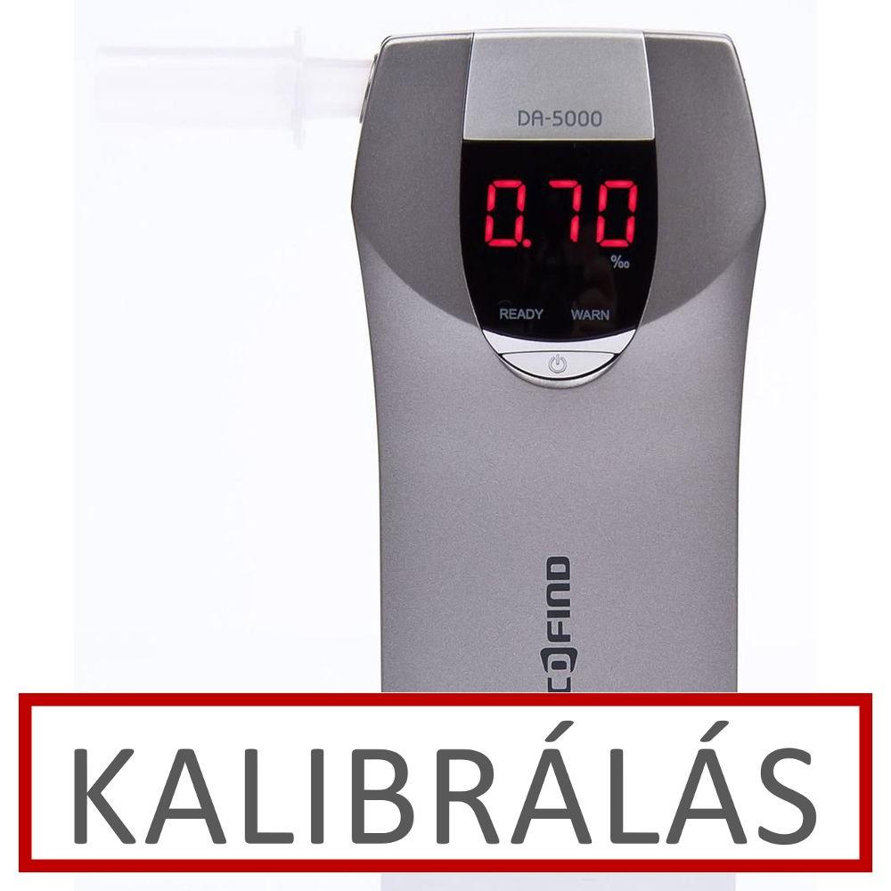 Image of Alcofind DA-5000 alkoholszonda kalibrálás