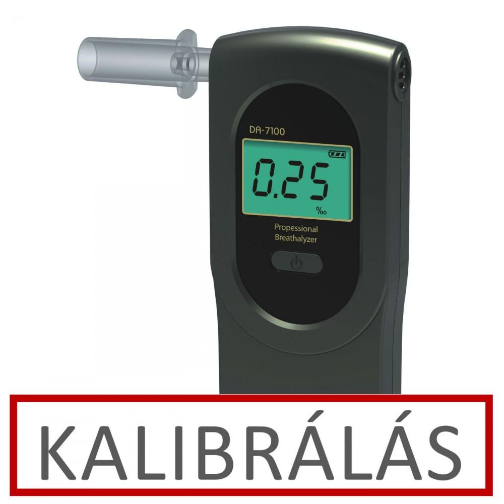 Image of Alcofind DA-7100 alkoholszonda kalibrálás